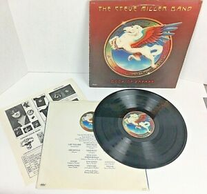 "Steve Miller Band Book of Dreams 12"" Vinyl Record Album LP w Insert 1977 SO11630"