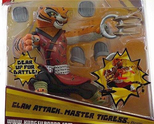 KUNG FU PANDA 6  Tigress Artiglio ATTACCO Deluxe Action
