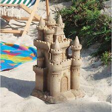 Sand Castle Garden Sculpture Pool Patio Beach Statue
