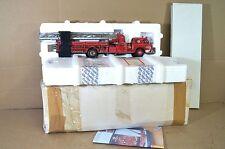 FRANKLIN MINT AMERICAN 1954 LAFRANCE SERIES 700 BIG RED FIRE ENGINE MIB na