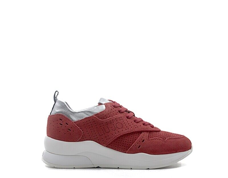 shoes LIU JO women Sneakers Trendy  red Pelle naturale B19009PX02591764
