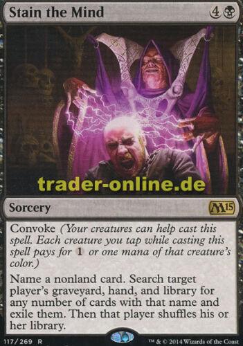 Magic 2015 M15 Magic Stain the Mind Gedankenschändung
