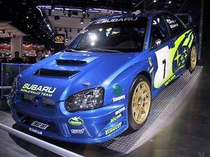 Details about Subaru Impreza Version 8 WRC Blobeye style body kit