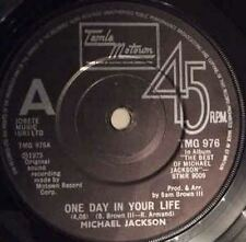 "One Day In Your Life/Take Me Back 7"" : Michael Jackson"