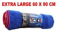 Car Drying Towel Cloth BLUE Microfibre Extra Large 60 x 90cm Trade Quality NEW
