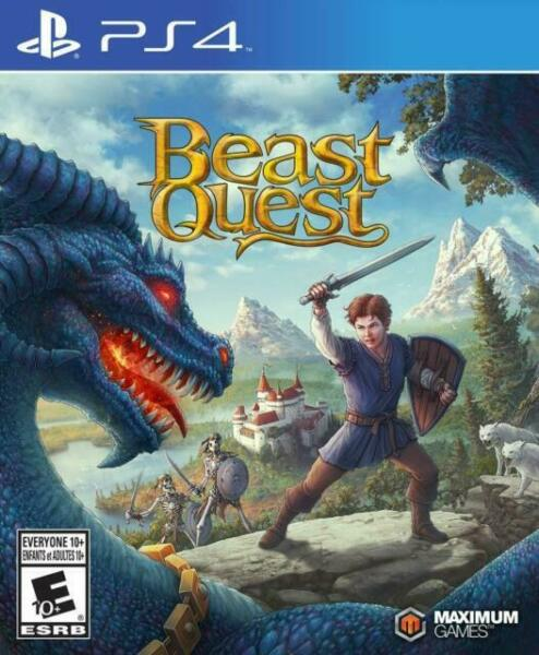 beast quest playstation 4 ps4 german import  game plays
