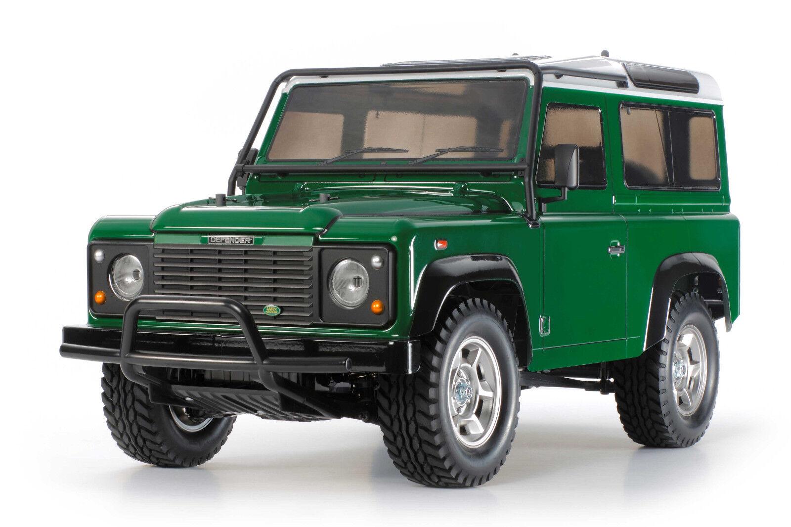 58657 Tamiya Land Rover Defender 90 CC-01 R C Kit FAST CHARGER Combo