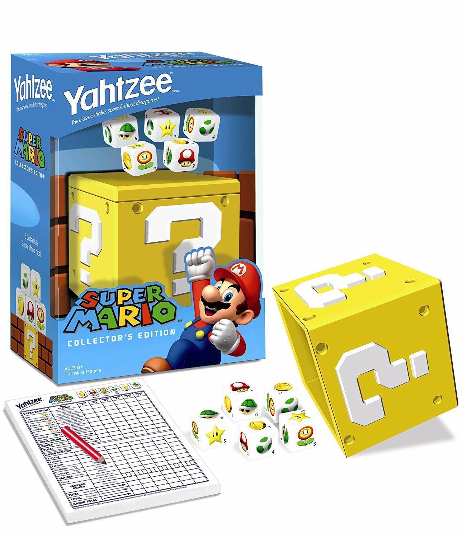 Super  Mario Collector's edizione Yahtzee - RARE  prezzo all'ingrosso