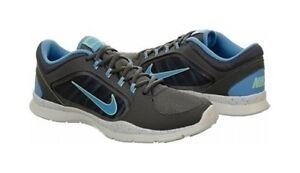 Nike Women's Flex Trainer 4 643083 005 Gray/Univ Bl/Mint New w Box/Store Disp