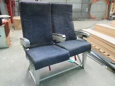 Used Boeing 767 Blue Double Seat part number 381-10A-2L