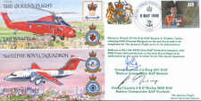 CC2c Queens Flight 32 The Royal Squadron signed KING & MORLEY RAF cover