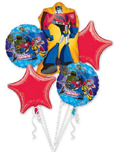 Image Is Loading Transformers Animated Cartoon Birthday Party Decoration Mylar Balloon