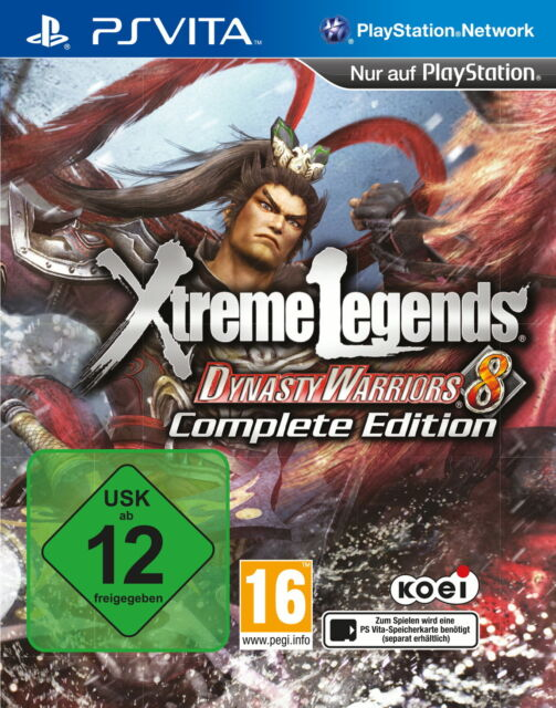 PS Vita Spiel wie NEU - Dynasty Warriors 8: Xtreme Legends Complete Edition Game