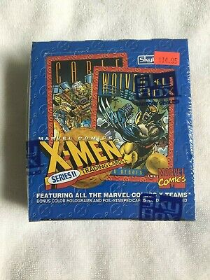 SEALED Skybox 1993 X Men Series 2 Marvel Universe Trading Cards 36CT