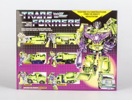 TRANSFORMERS G1 Reissue Devastator Brand New Gift Kids Toy Action