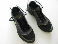 Boys Under Armour 'defend' Size 7 Y Us Shoes Runners Brand Black Green Youth