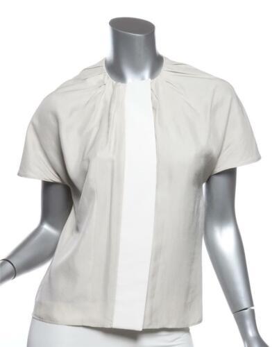 BALENCIAGA PARIS Womens Light Grey Silk+Cotton Cap