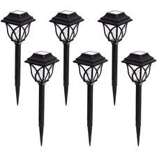Item 2 Portfolio 6 Light Black LED Path Light Kit Pathway, Garden Solar  Lighting   New  Portfolio 6 Light Black LED Path Light Kit Pathway, Garden  Solar ...