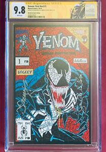 VENOM-FIRST-HOST-1-Shattered-Comics-Lethal-Protector-Homage-Signed-2X-CGC-9-8