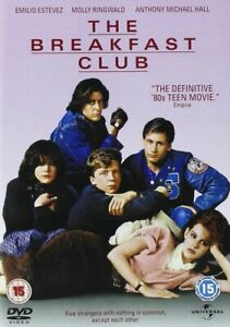 The-Breakfast-Club-John-Hughes-Emilio-Estevez-Molly-Ringwald-Universal-DVD-Nuevo