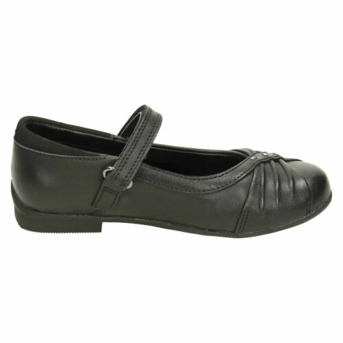 GIRLS CLARKS DOLLY SHY RIP TAPE FASTENING SHOES *  SALE