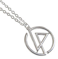 Necklace, Pendant Symbol Of The Group Linkin Park With Chain