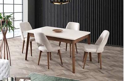 Tavolo Ekol allungabile con quattro sedie Design moderno sala da pranzo cucina   eBay