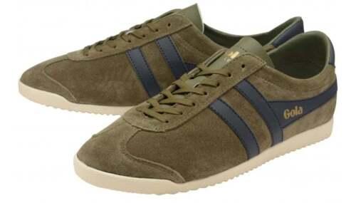 Vintage Gola Cla153 Chaussures Hommes Suede 181 Chaussures Suede Bullet Classics 88x41Hr