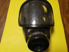 Msa Black Full Face Piece Respirator Gas Mask
