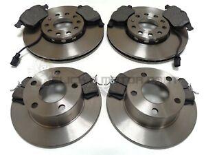 1.8 2.3 /& 2.5 Rear Brake Discs /& Pads B5 B5F 1996-2005 1.9 TDi VW Passat Est