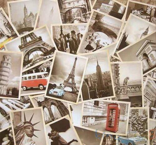 Box of 32 Vintage Landscape Travel Postcard Photo Picture Poster Post Cards 4X6