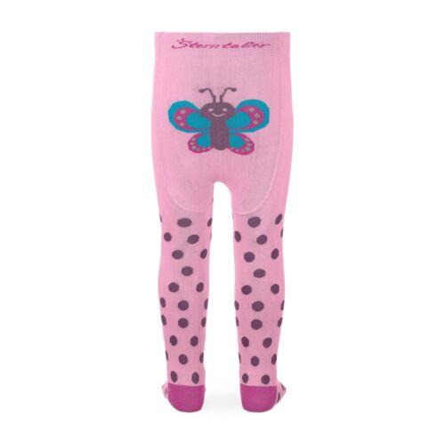 Neu Sterntaler Krabbelstrumpfhose 8651803 mit Pomotiv Schmetterling