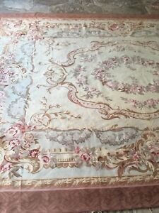 Image Is Loading Antique French Aubusson Rug