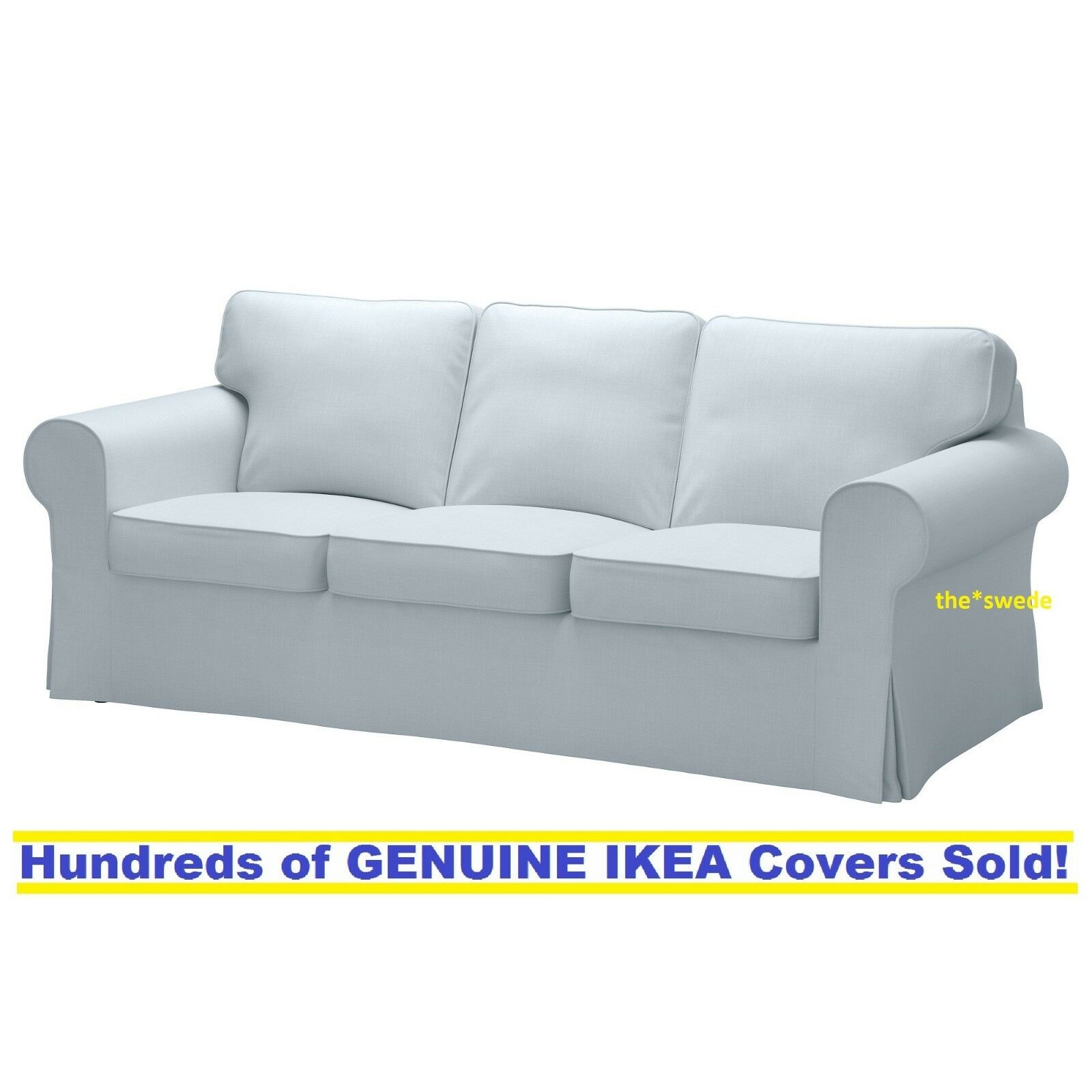 Scarlett 3 Piece Sofa Set In Light Blue