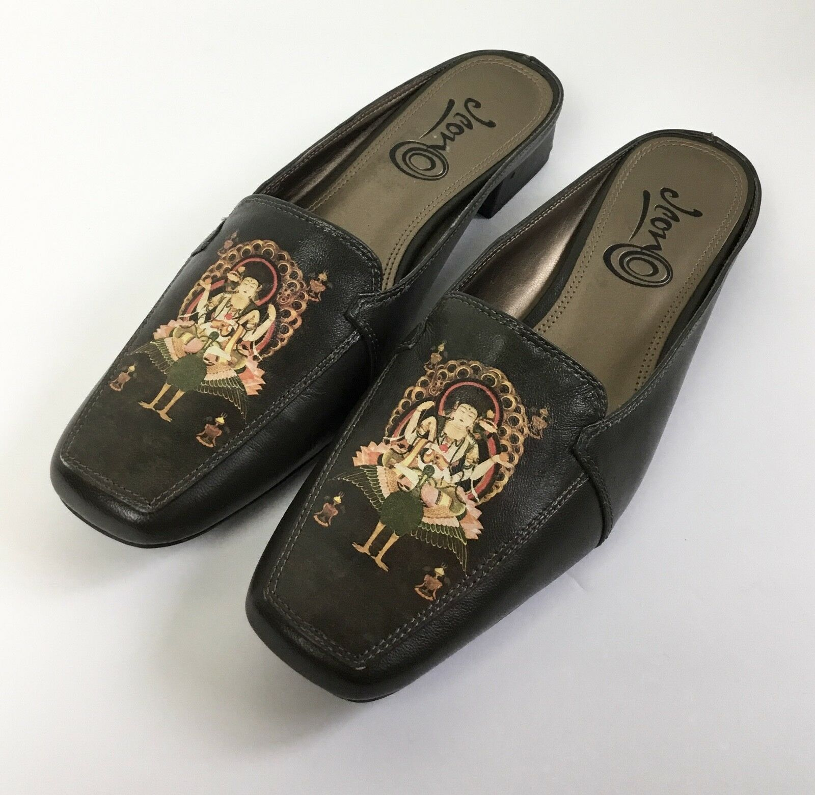 Icon Leder Mules Slides Schuhes Art To Wear