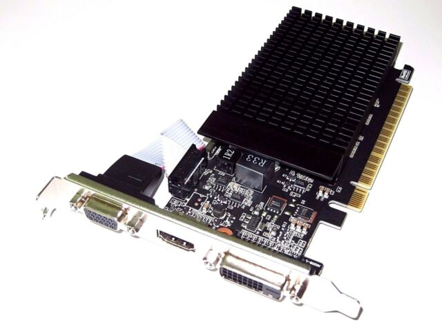 2GB LENOVO ASUS GATEWAY ACER EMACHINES Full Size Height Length HD Video VGA Card