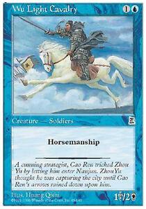 2x-Wu-Light-Cavalry-MTG-MAGIC-P3K-Portal-Three-Kingdoms-Eng
