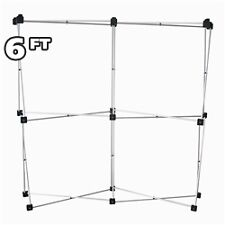 6 Ft Pop Up Table Top Trade Show Display Frame