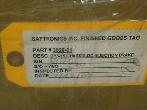 Saftronics-3920-01-DY5-15-CHASSIS-DC-INJECTION-BRAKE