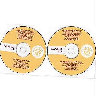 2 Disc Set Smart All Star Karaoke Fun Pack Cd+g: Ask01 Cdg Party Vol.1