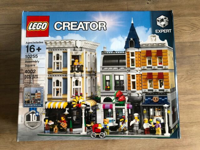 NEW LEGO Creator Expert Assembly Square 10255 Building Kit 4002 Pieces