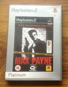 Max-Payne-Sony-ps2-UK-PAL-Platinum-Videospiel-kostenlos-UK-PORTO