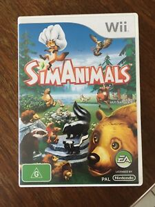 NINTENDO-WII-SIM-ANIMALS-GAME-COMPLETE-AUS-RELEASE-SIMANIMALS