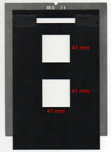 individual 35mm frames. Film holder for Imacon//Hasselblad Flextight scanners
