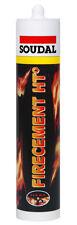 Soudal Firecement Ht Black 310ml cartridge