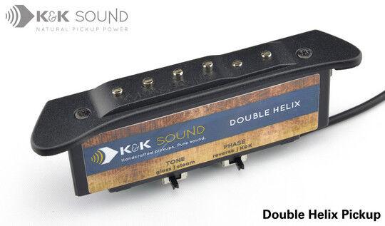 K&K Double Helix acoustic guitar soundhole pickup