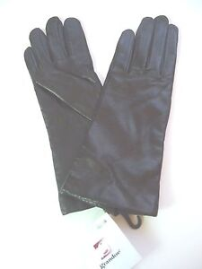 Ladies-Grandoe-Genuine-Leather-100-Cashmere-Lined-Gloves-Brown-Small