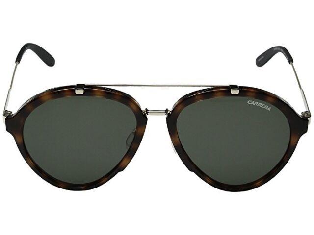f7ad1b5ddf Carrera Men s Ca125s Aviator Sunglasses Havana Gold green 54 Mm for ...