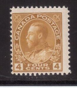 CANADA-1922-MINT-NH-110-KING-GEORGE-V-034-ADMIRAL-034-ISSUE-A89