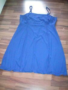 Damenkleid-Abendkleid-Cocktailkleid-Partykleid-Abiballkleid-Kleid-Gr-48-BlauNEU
